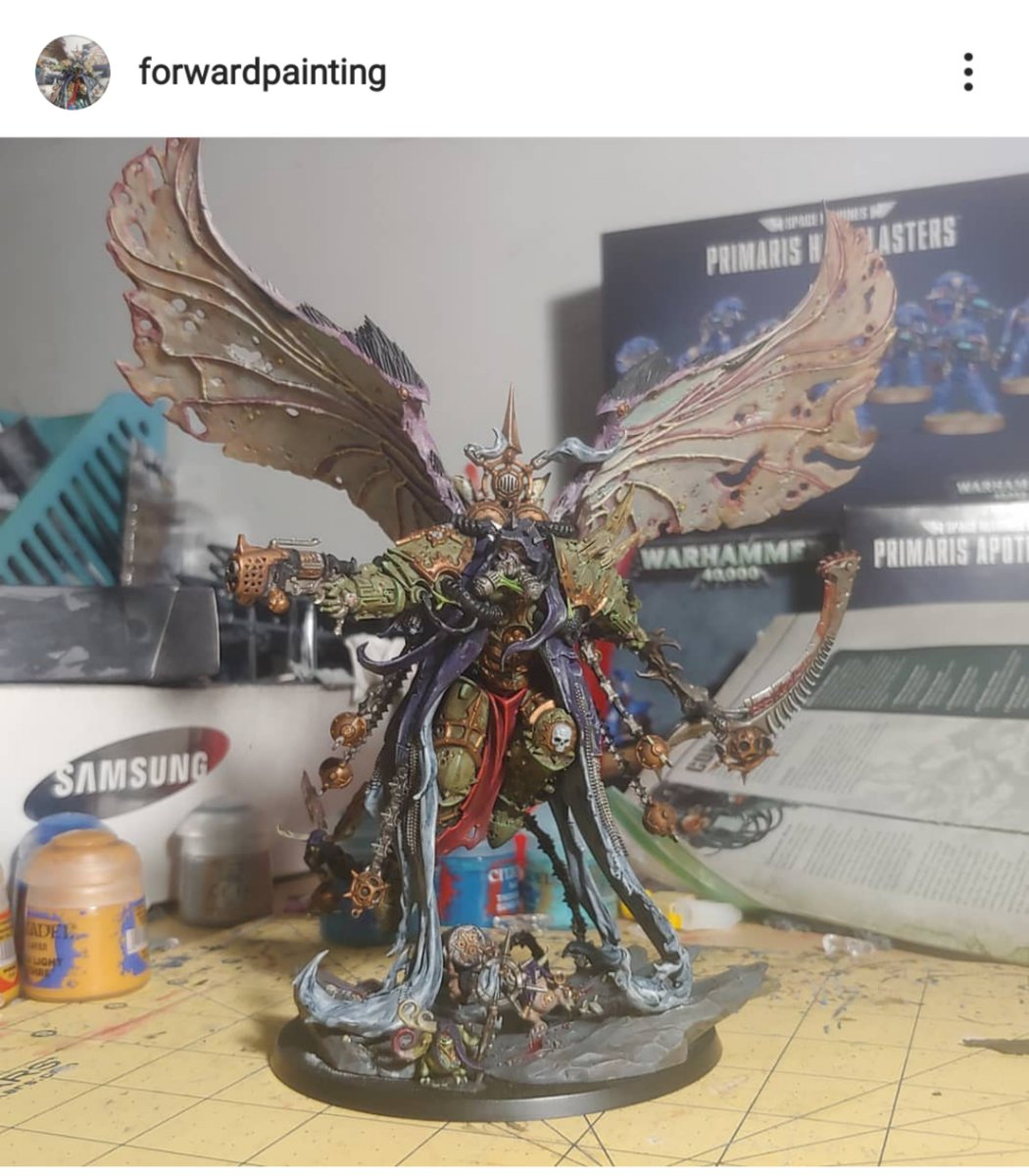Just found out my nephew has an Insta account sharing his fig paintwork. So proud. Check this feller out:  https://www.instagram.com/p/B2Y-xLcHfxN/?igshid=zuqhhsmt07in…