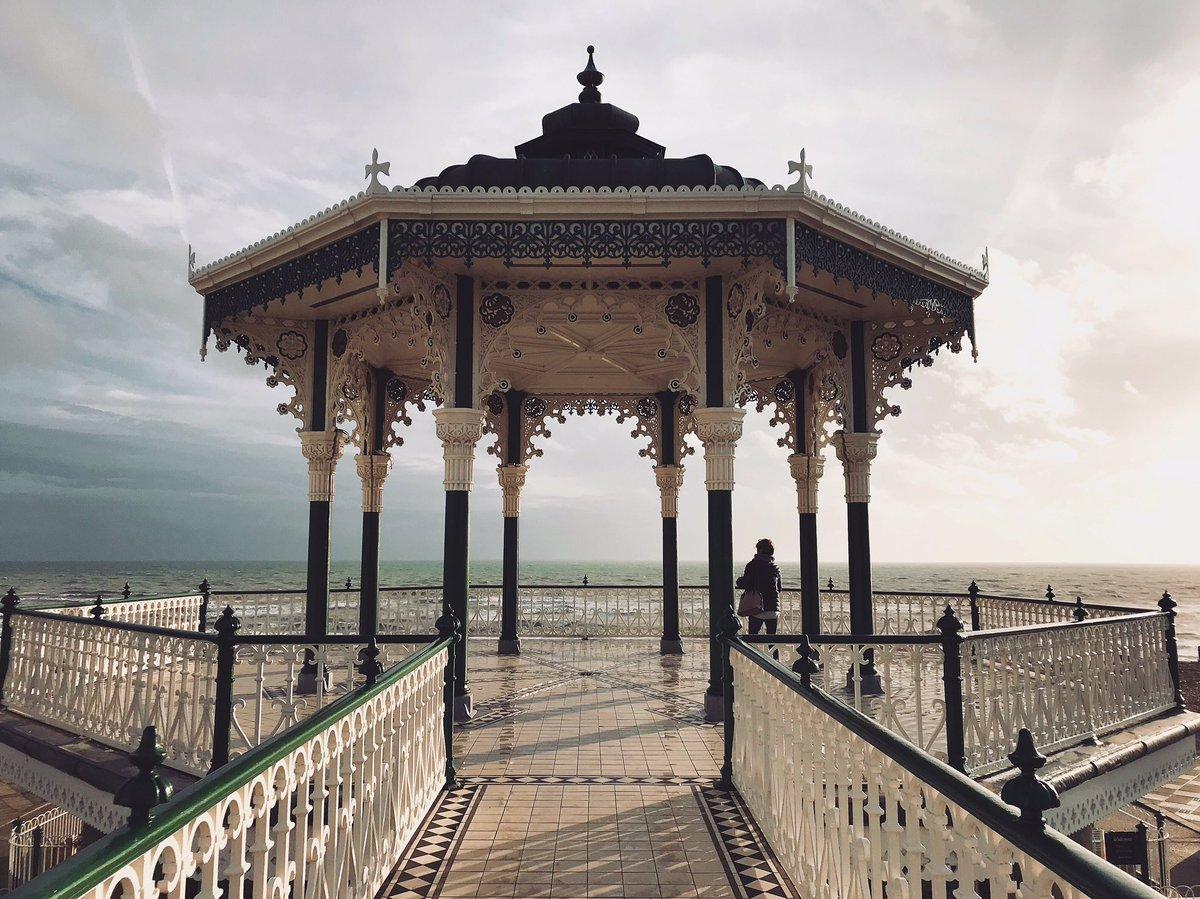 Brighton proving the UK can be pretty even in the rain ⛅️