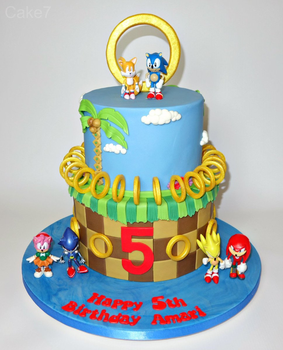 Cake7 On Twitter Here S My Sonic The Hedgehog Friends Themed