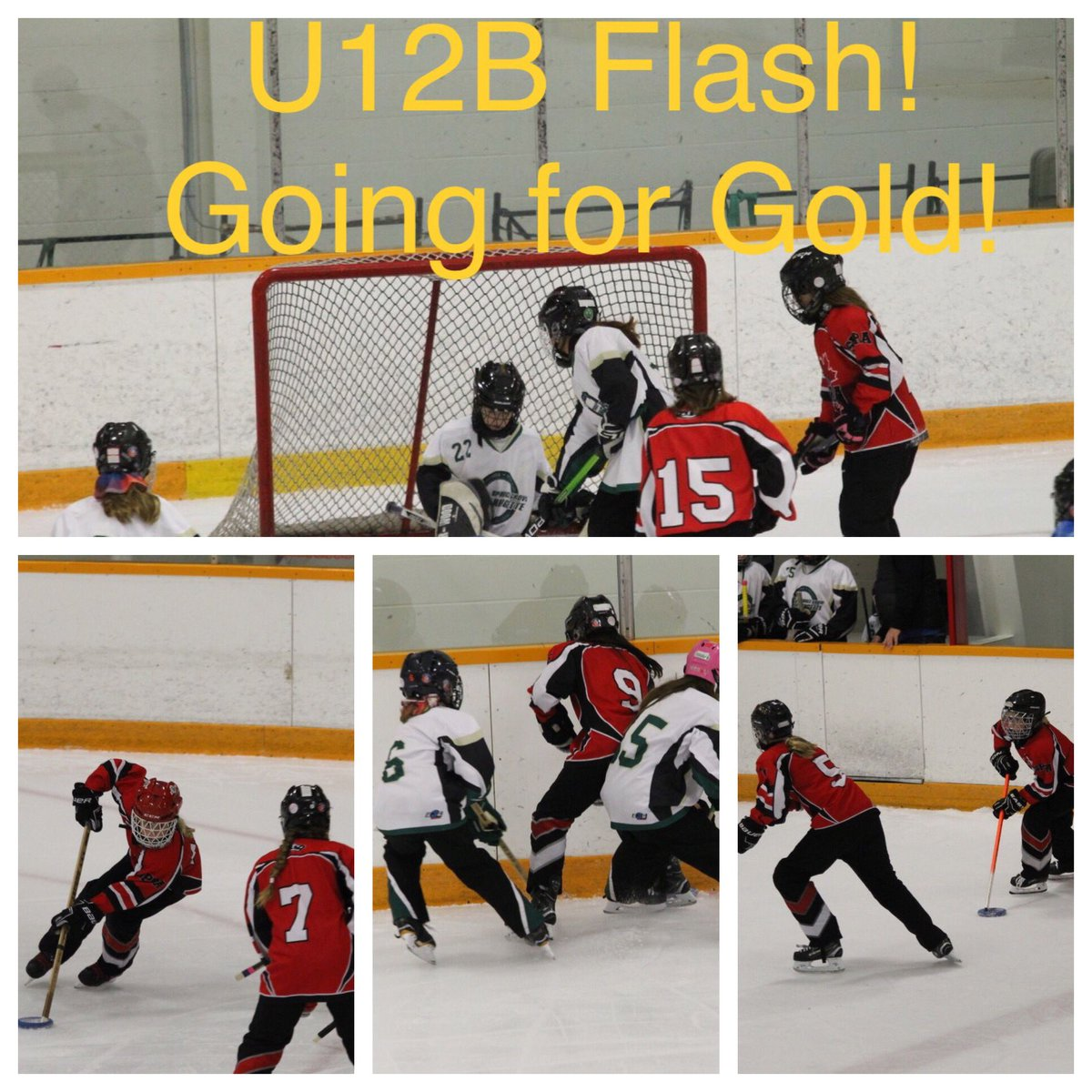 Good luck to the U12B Flash!  Going for Gold this afternoon!  #spra #turkeyring #ringettetournament pic.twitter.com/um0CjaAaFd