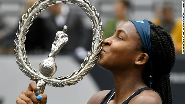 American tennis phenom Coco Gauff, 15, wins her first tennis title in Linz, Austria, becoming the youngest WTA winner since 2004  https://cnn.it/31cyOS4
