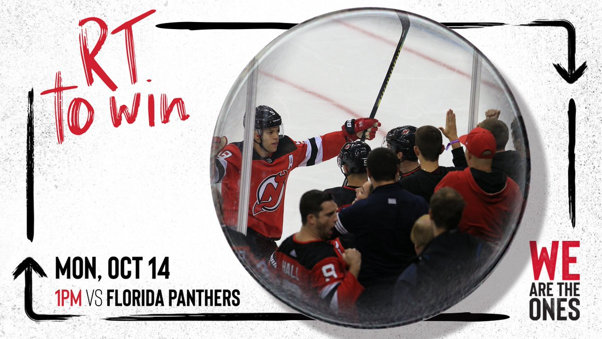 RT and follow me + @NJDevils to win my #DevilsPrezTix for Monday's game against Florida!   Winner will be randomly selected and DM'ed before 7 PM today.