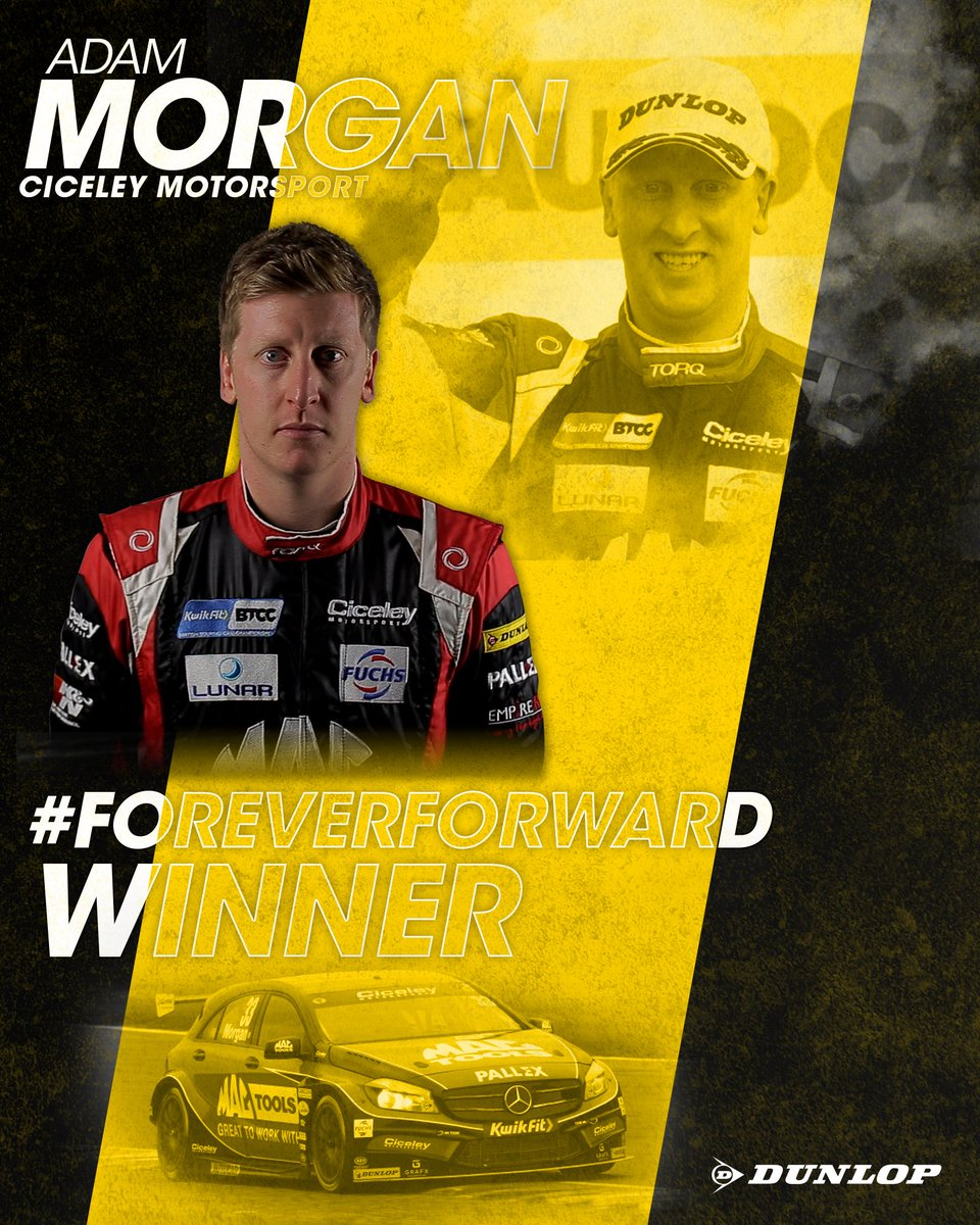Overtaking comes natural to @AdamMorgan33!  129 overtakes for the season means the @CiceleyMsport man is our #ForeverForward Champion! 🏆 #BTCC https://t.co/StwyxfY86W