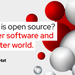 Image for the Tweet beginning: The history of #opensource is