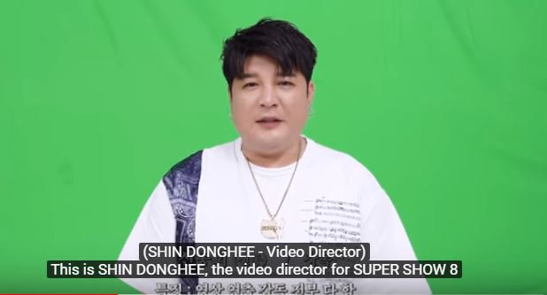 SHINDONG - SUJUs Video Director for SUPER SHOW 8 SUJU could keep him all to themselves but Shindong directs MVS for other artists as well ..... I think he is amazing - my opinion. 😃😊💖 #슈퍼주니어 #SUPERJUNIOR #SJ_Time_Slip #SUPER_Clap #SJ_SUPER_Clap @SJofficial