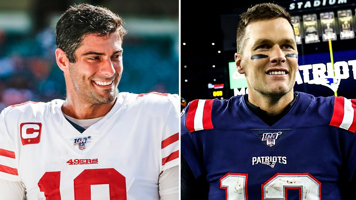 49ers. Patriots.  Undefeated through Week 6 🔥