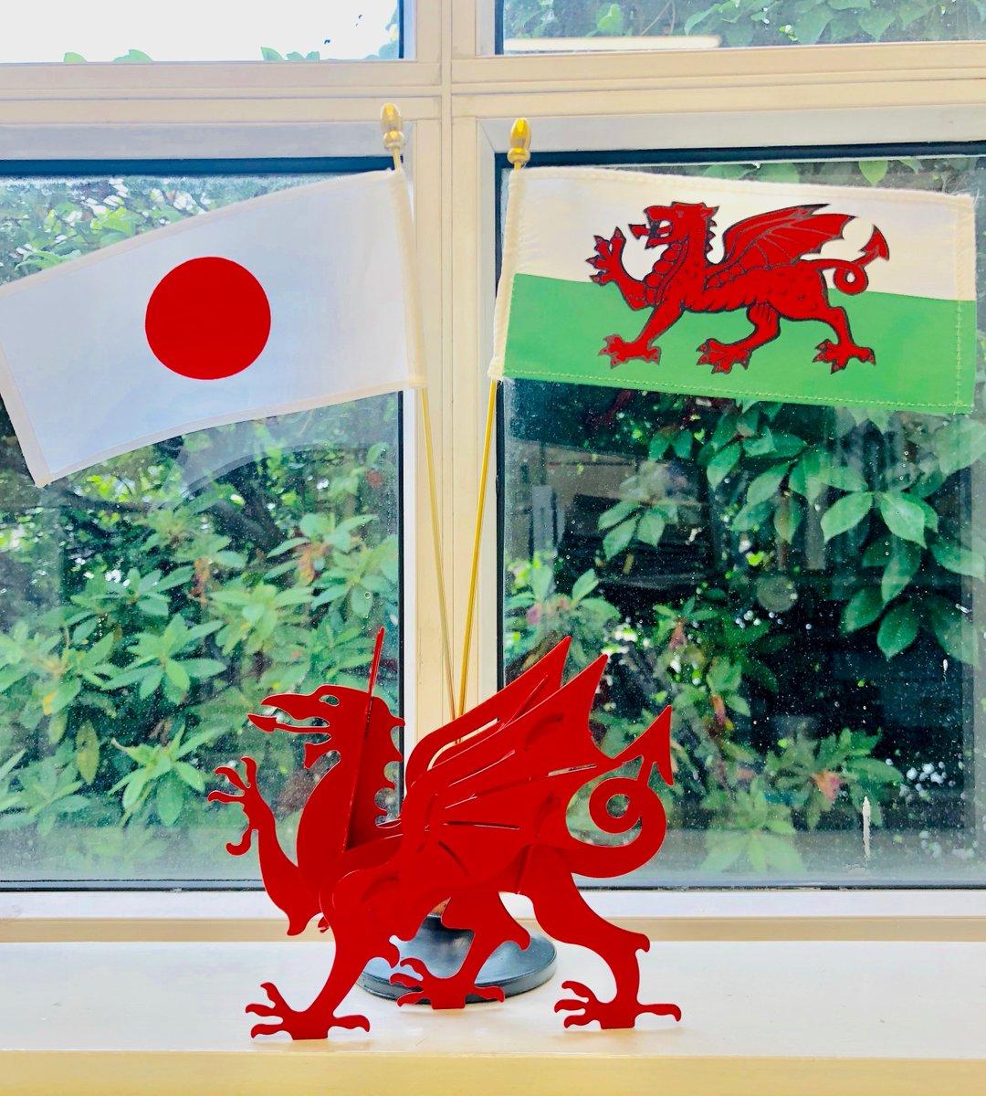 昨日のRWC2019の試合では、試合開始前に台風19号でご不幸に見舞われた皆様に観客と選手共にそれぞれのピッチで黙とうを捧げました。被災者の皆様に心よりお見舞い申し上げます。日本はスコットランドに、ウェールズは熊本にてウルグアイに快勝・ベスト8に。皆様へパワーをお送りできればと願います。