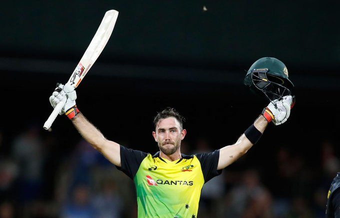One of only two Australians to have scored a century in all three formats...  Happy Birthday Glenn Maxwell!