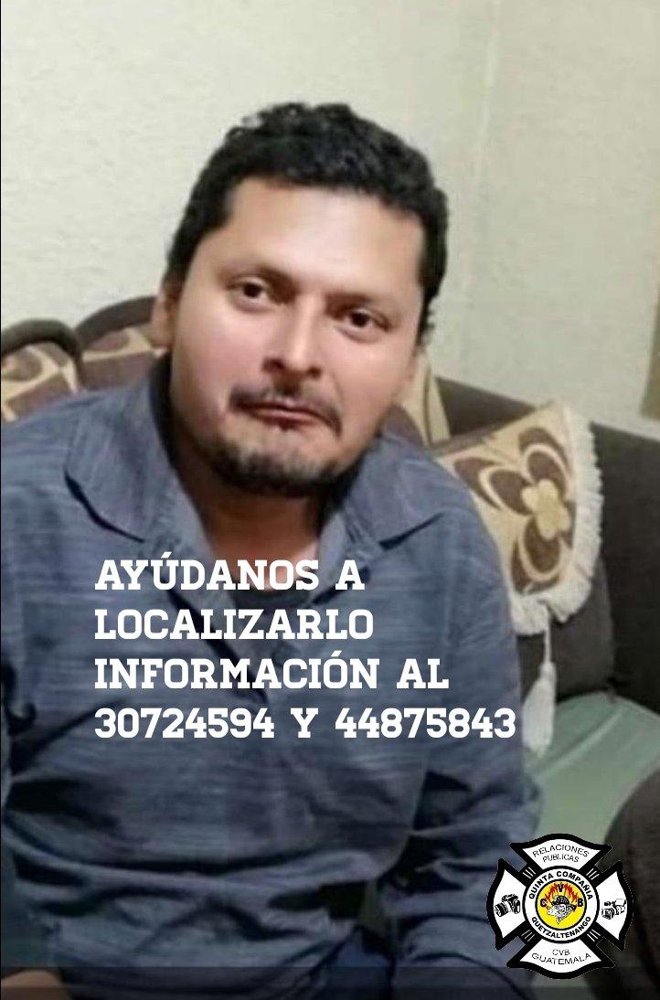 🚨SERVICIO SOCIAL 🚨AYÚDANOS A LOCALIZAR AWilian byron Tovar Gómez de37 años edad.  Esta persona no puede escuchar ni hablar.  Cualquier información al los teléfonos   30724594 y 44875843  o @BVoluntariosGT #QuintaCompañia 7761-2002