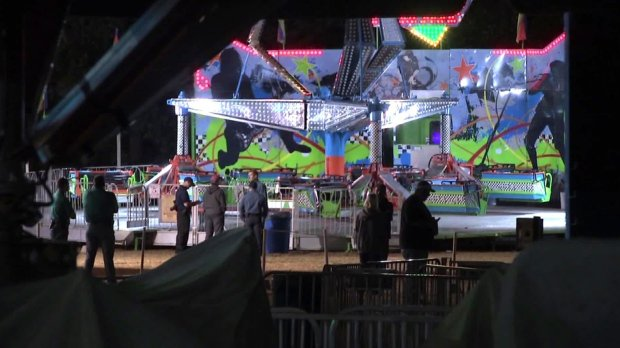 Girl dies after being flung from a ride at a New Jersey festival