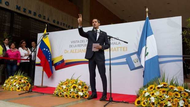 Venezuela denies entry of Guatemala's president-elect