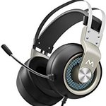 Image for the Tweet beginning: Mpow Gaming Headset with 50mm