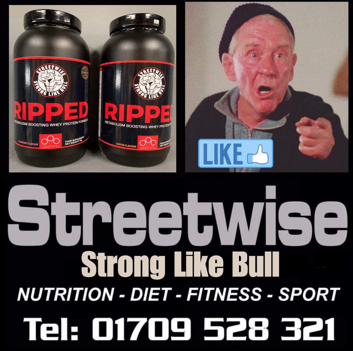 We have nailed it with RIPPED. QUALITY, MIX and TASTE #streetwise  #streetwisecrew  #stronglikebull  #fitfam  #fitness  #hardcore  #lovelife  #livetothemax  #supplements  #nutrition  #trainhard