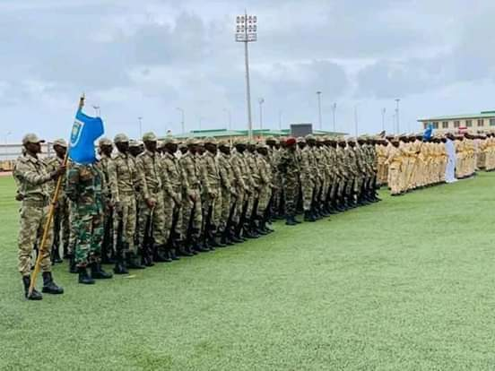The military of somalia is the Africa lions