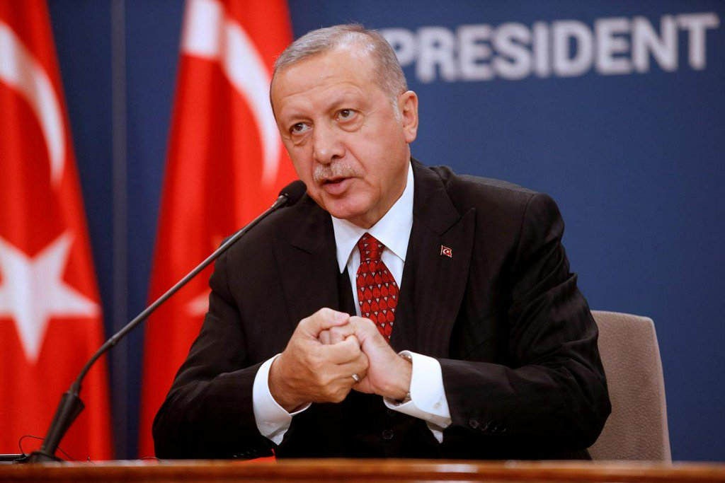 Erdogan says Turkish-led offensive to extend further along Syrian border