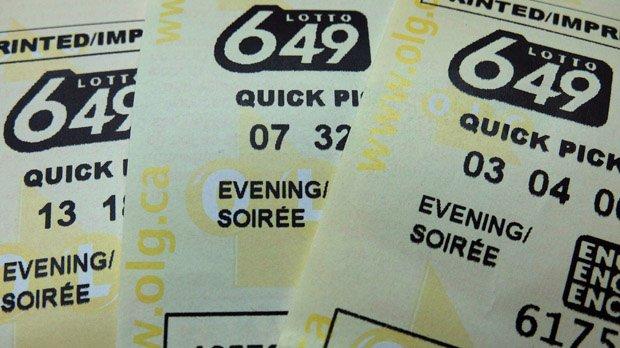No winning ticket for Saturday night's $5 million Lotto 649 jackpot