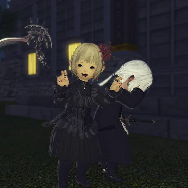 Also, will be smol until 5.1 hits, which means... lots of shenanigans! My senpai is already looking forward to it. #ffxiv #ffxivscreenshot #ps4screenshot #ff14 #gpose #lalafell #lalafelllife https://ift.tt/2INt4rX pic.twitter.com/Jb7dOzdbZv