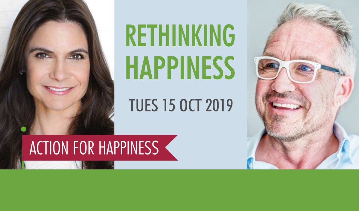Forget the myth of the perfect life - it doesnt exist. Focus on doing things which make you and others happier Join hundreds of others this week to find out how rethinkinghappiness.eventbrite.co.uk