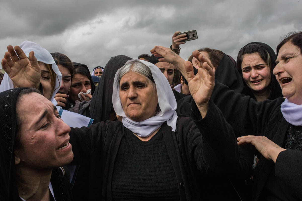 After ISIL: Yazidi women find the strength to return home — in pictures