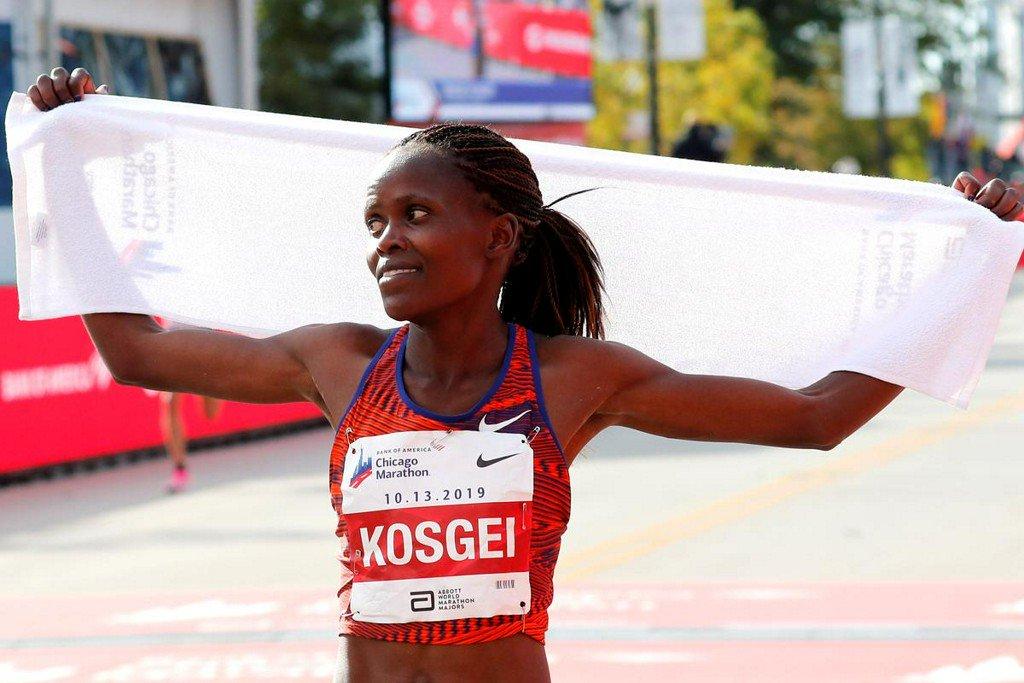 Fresh off world record run, Kosgei thinks women can go even faster