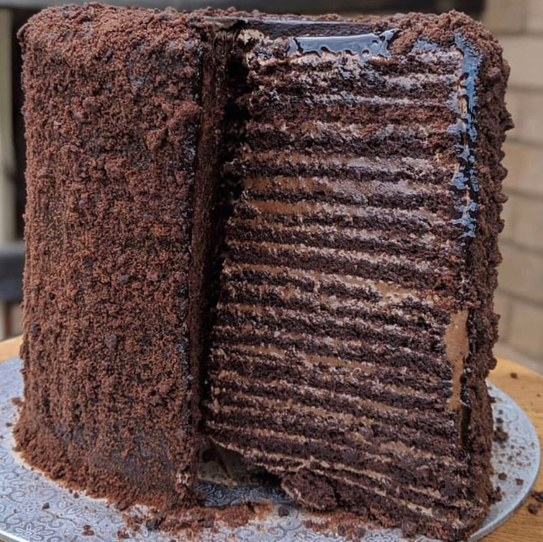 36-layered chocolate cake challenge: You're offered $10k to finish this in less than 6 hours on your own, what do you do?