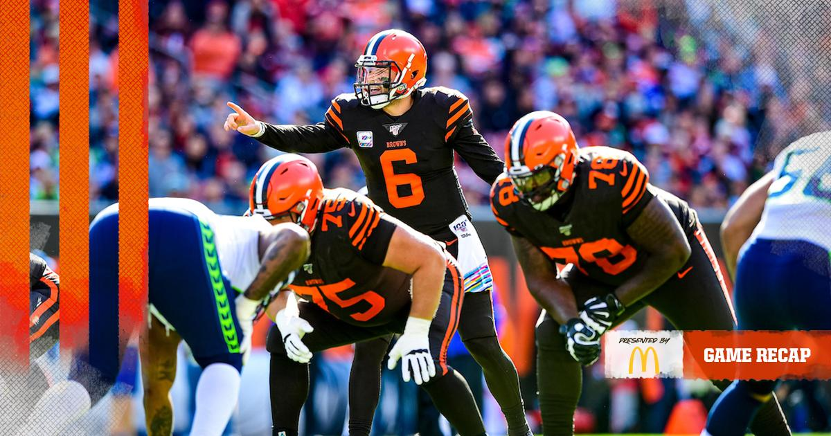 Browns can't maximize hot start, fall to Seahawks Recap » brow.nz/ebcBCk