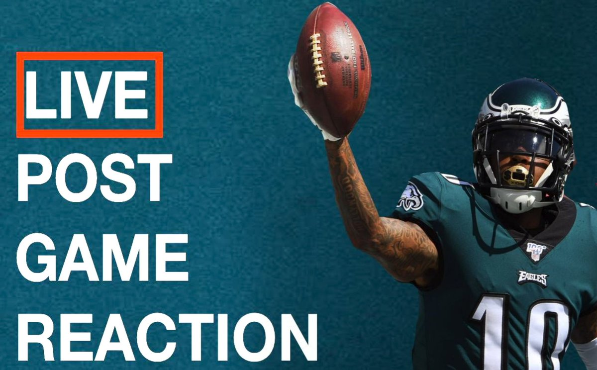 Our Eagles post-game recap is LIVE! Come and vent with us!