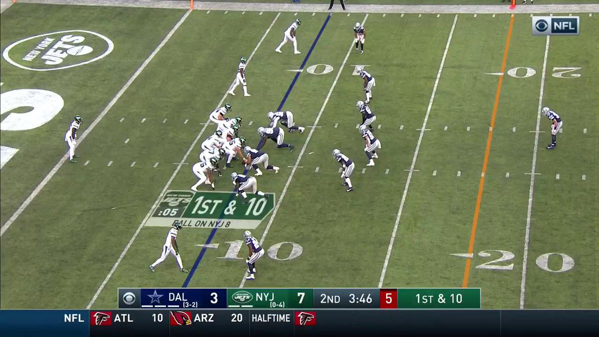 SAM. DARNOLD. BACK.  92 yards, the longest play of the 2019 season 🔥  (via @NFL)