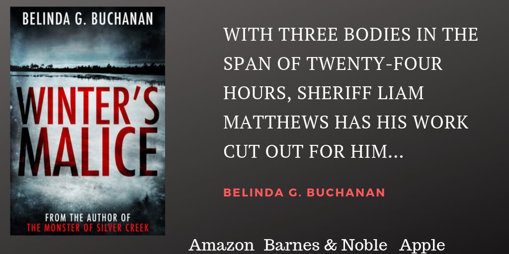 Winter's Malice is now available for pre-order! #CrimeFiction #Mystery #SmallTownSheriff #IARTG #ASMSG<br>http://pic.twitter.com/2DA0dtdpIh