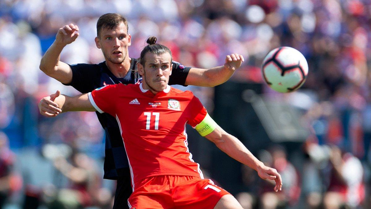 📸🇭🇷Borna Barišić 🆚 Gareth Bale🏴🅰️June 2019, Osijek🅱️October 2019, Cardiff#WALCRO #EURO2020