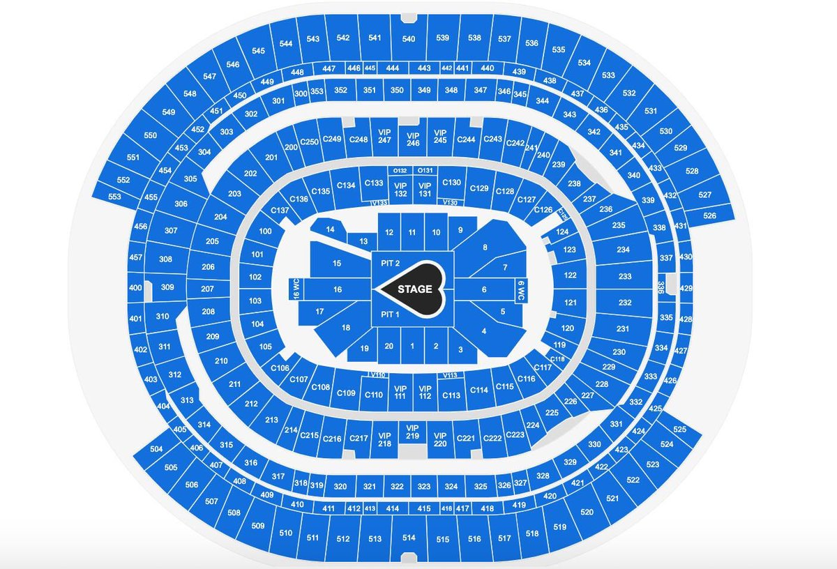 Taylor Swift News On Twitter The Seating Map And Stage Design For Loverfest West At Sofistadium Via Ticketmaster