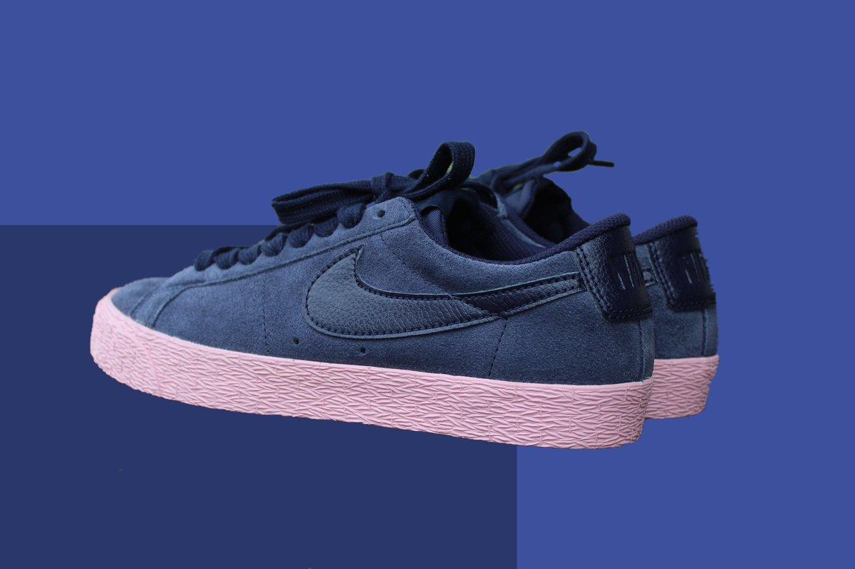 """Nike Sb zoom Blazer Low """"Bubblegum"""" Size 6 No box   $45<br>http://pic.twitter.com/U8leCJl9bR"""