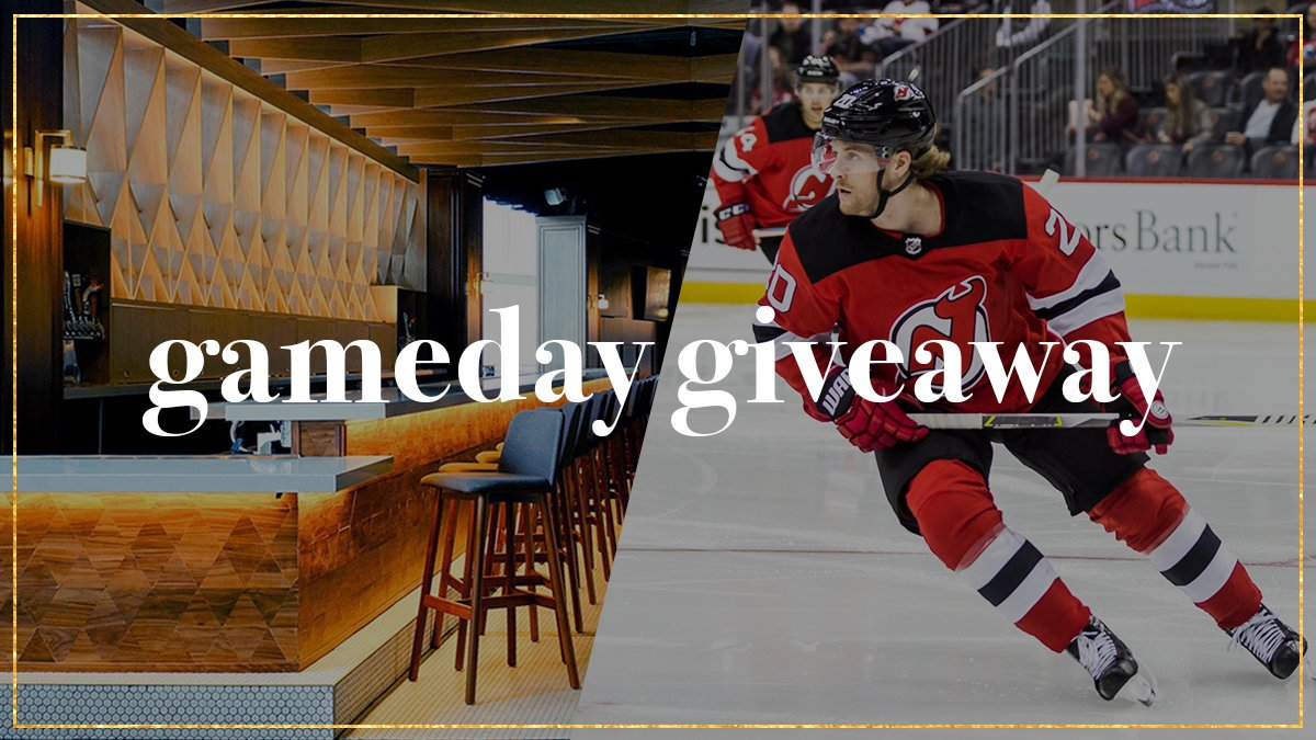 🚨 #NJDevils GAMEDAY GIVEAWAY 🚨  Follow @PruCenter for your chance to win 2 Premium @NJDevils tickets in The Lofts! The first eligible person (can only win once a season) to reply to the tweet will win tickets to today's game.