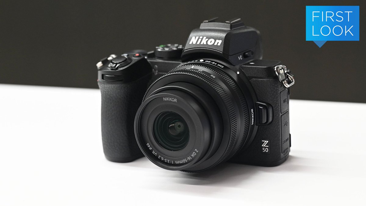 Nikon Z50 First Look: Nikon's more affordable and compact mirrorless option is