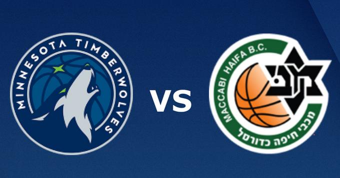 【NBA熱身賽】2019.10.14 08:00-灰狼VS海法馬卡比 Minnesota Timberwolves VS Maccabi Haifa LIVE