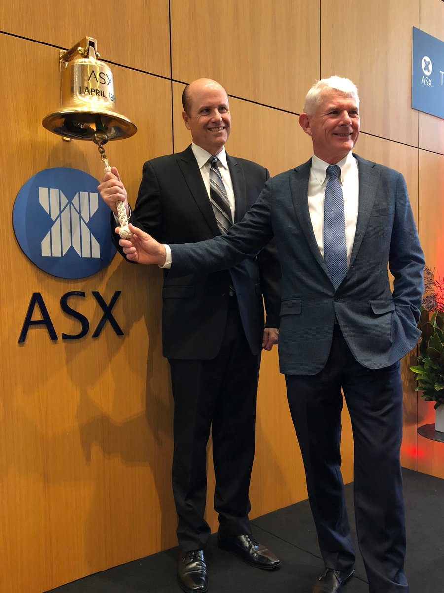 Congratulations @CSL for your 25th anniversary of listing on the @ASX! It is an honour to have you as Principal Sponsor of @UROP_Biomedvic, we thank you for your ongoing support