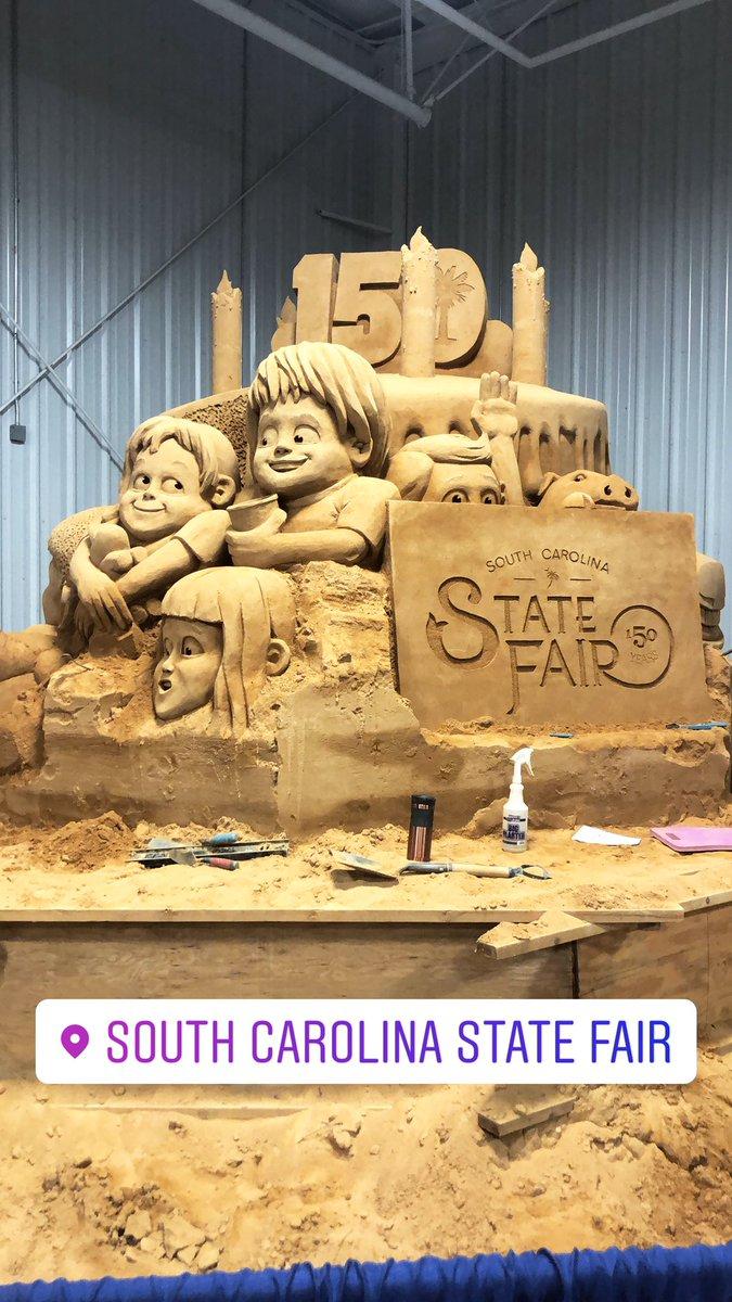 Sand art from the Fair this year! #150thYear #SC #Columbiapic.twitter.com/QtP42QJZox
