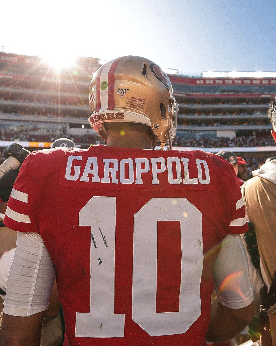 Goff was 13-24 for 78 yards. Missed his WR's all over the field, but #Haters want to talk about Jimmy G 😂🤣 Ya'll🤡 #GoNiners