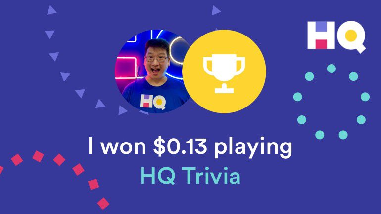 Played and WON #HQTunes WITH THE CHILDREN. They helped me on a WHOPPING 6 Qs, most notably Q15 where my daughter immediately told me it's not Cadet Kelly. @MelodyyAlanna