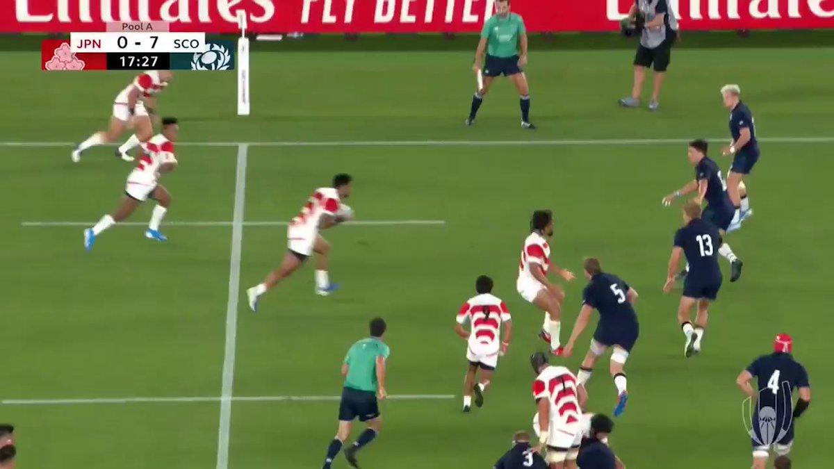 【MATCH 40PickUp】🇯🇵日本 vs. スコットランド🏴日本の得点シーンをすべてまとめました🔥歴史を変えた一戦をもう一度ご覧ください🌟J SPORTSオンデマンドで見逃し配信中!👉 #ラグビーワールドカップ #BRAVEを届けよう #RWC2019 #JPNvSCO  #RWC横浜