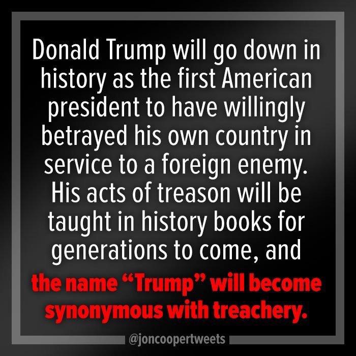 Treachery, thy name is TRUMP. #ImpeachmentTaskForce