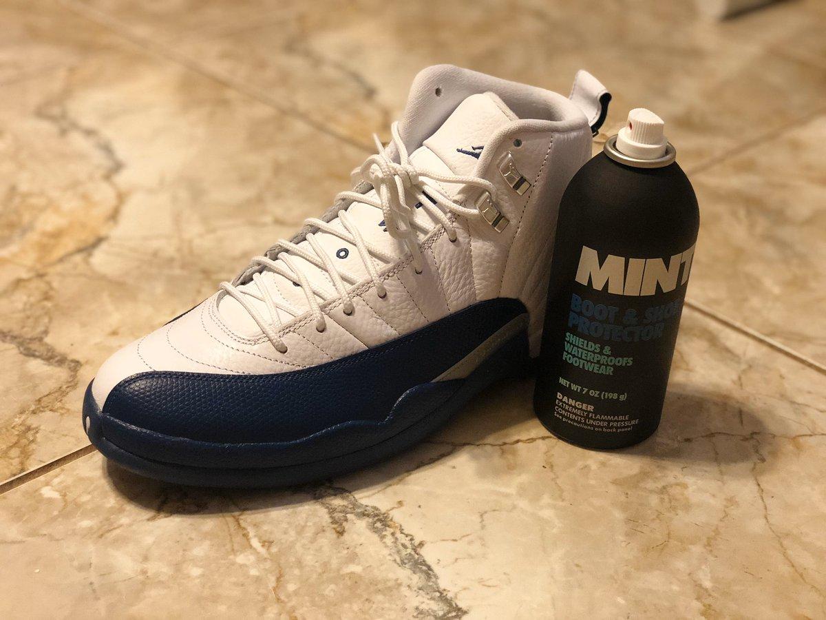 Mayo's finally about to take these off ice tomorrow. Gotta protect the Jordan 12 French blue #sneakerhead #sneakerheads #nike #jumpman #airjordan #jordan12 #jordan #houseofheat #frenchblue12s #sneakers #sneaker
