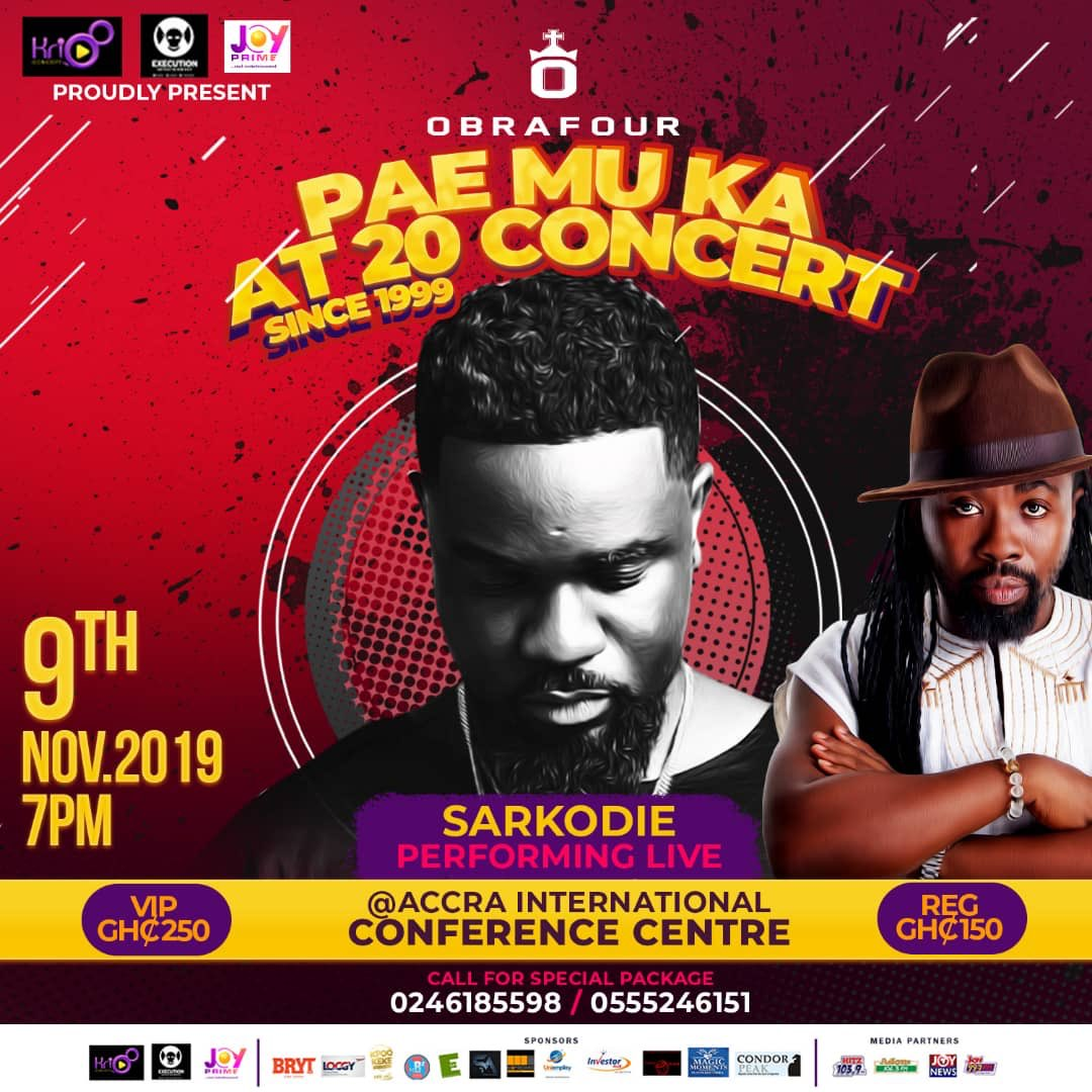 Sarkodie Reveals What Pushed Him To Write His First Rap Verse