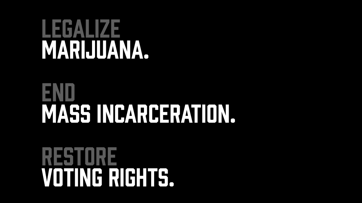 We need to end mass incarceration.