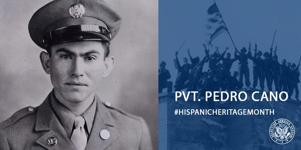 We join the @USArmy in honoring Pvt. Pedro Cano during #HispanicHeritageMonth for his valiant efforts in a German battle in WWII. He was honored for that courage 70 years later with the Medal of Honor. http://ow.ly/SlK450wQjZ9 pic.twitter.com/wZhbVTpwgL