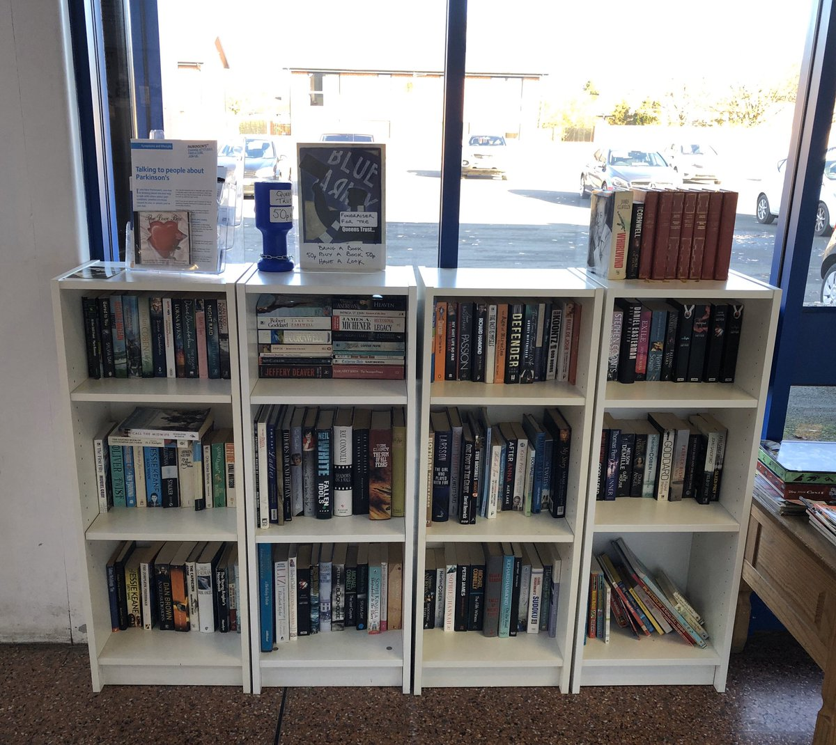 Queens Trust On Twitter Extra Bookcase Now Added To The Queens