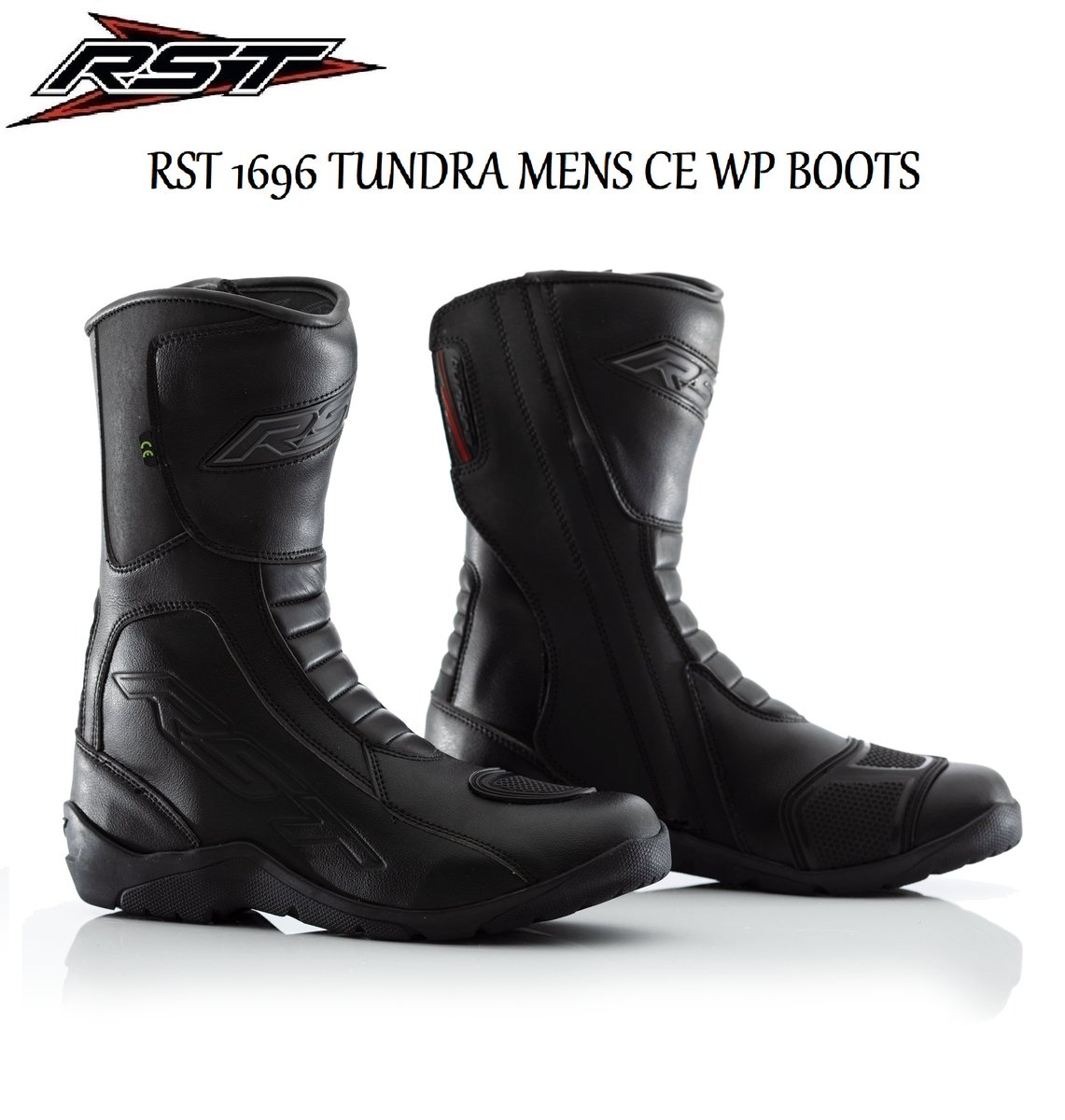 RST Paragon II WP CE 1568/Motorcycle Boot Black