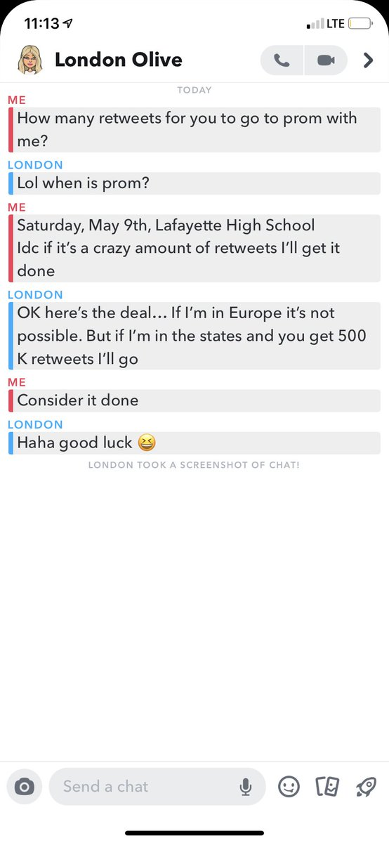 HELP A BROTHER OUT... 500K retweets to take Kentucky model London Olive to my senior prom. @londonolive1
