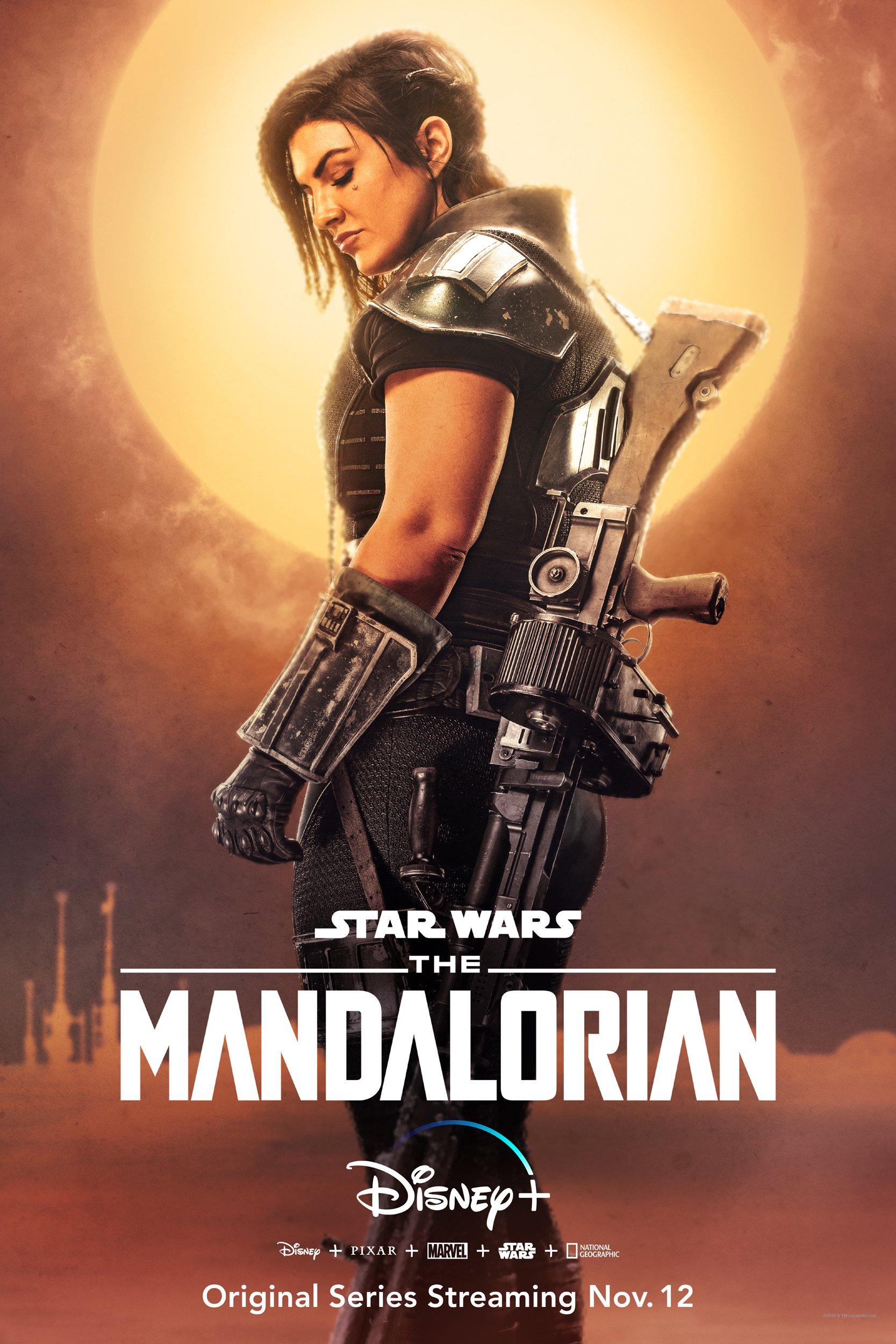 The Mandalorian - Cara Dune Poster