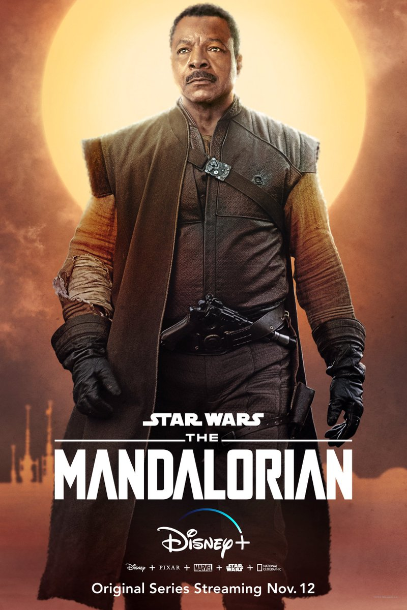 The Mandalorian - Greef Carga Poster